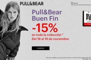 Ofertas Pull & Bear El Buen Fin 2018