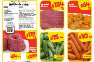 Bodega Aurrerá: frutas y verduras del 3 al 8 de noviembre 2018