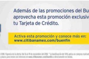 Citibanamex El Buen Fin 2018: 10% de descuento adicional a MSI