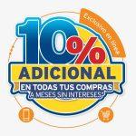 CitiBanamex: El mejor martes Año 10% de descuento adicional online