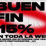 El Buen Fin 2018 Bershka: 15% de descuento en toda la colección