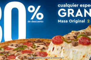 El Buen Fin 2018 Domino's Pizza: Cupón de 30% de descuento en Pizza Grande
