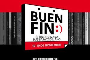 El Buen Fin 2018 Fondo de Cultura Económica: Libros 45% de descuento