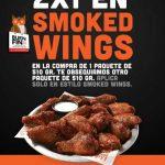 El Buen Fin 2018 Hooters: 2x1 en Smoked Wings