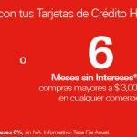 El Buen Fin 2018 HSBC: 10% de bonificación o 6 Meses sin Intereses