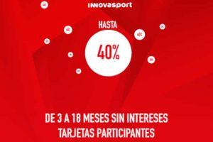 Ofertas Innovasport El Buen Fin 2018: hasta 40% de descuento + 18 MSI
