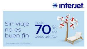 El Buen Fin 2018 Interjet: hasta 70% de descuento en vuelos