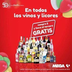 El Buen Fin 2018 Mega Soriana: 3×2 en vinos y licores