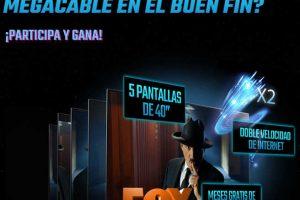 El Buen Fin 2018 Megacable: Concurso, Fox Premium e Instalación Gratis