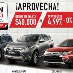 El Buen Fin 2018 Mitsubishi: Bonos de hasta $40,000 ó 0% de comisión