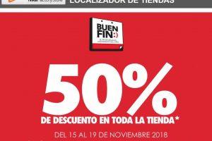 El Buen Fin 2018 Nike Factory Stores: 50% de descuento en toda la tienda