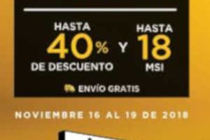 El Buen Fin 2018 Palacio de Hierro: Hasta 40% de descuento y 18 MSI