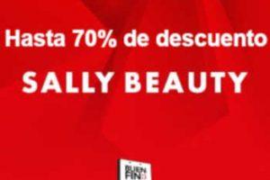 El Buen Fin 2018 Sally Beauty: hasta 70% de descuento