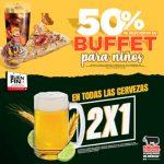 El Buen Fin 2018 Sirloin Stockade: 2x1 en cervezas y 50% de descuento