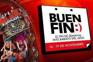 El Buen Fin 2018 Six Flags: 68% de descuento en pase anual Gold 2019