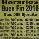 El Buen Fin 2018 Soriana: Ofertas y Horarios de tiendas Soriana