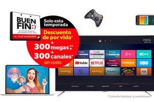 El Buen Fin 2018 Totalplay: Descuentos, 300 megas y canales GRATIS