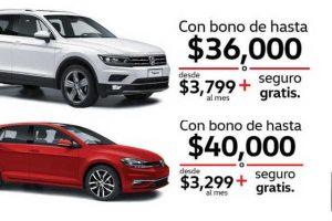 El Buen Fin 2018 Volkswagen: Ofertas en Golf, Gol, Vento, Jetta y Tiguan