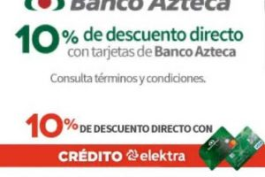 Elektra Black Friday Week 2018 / 10% de descuento con Banco Azteca