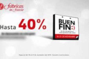Fábricas de Francia El Buen Fin 2018: Hasta 40% de descuento y 13 MSI