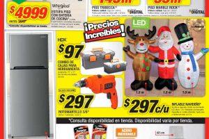 Folleto de ofertas del Buen Fin 2018 en The Home Depot