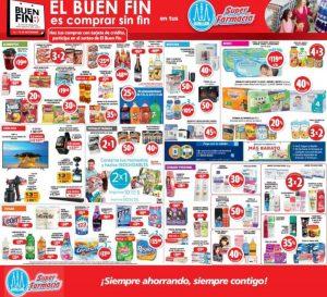 Folleto de promociones Farmacias Guadalajara El Buen Fin 2018