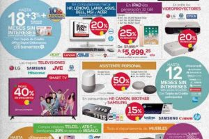 Folleto de ofertas del Buen Fin 2018 en Office Depot