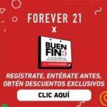 El Buen Fin 2018 Forever 21 descuentos en ropa y moda