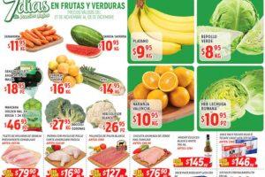 Frutas y Verduras HEB del 27 de noviembre al 3 de diciembre 2018