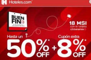 Ofertas Hoteles.com El Buen Fin 2018