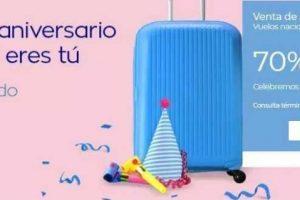 Venta de Aniversario 2018 en Interjet del 29 de noviembre al 5 de diciembre
