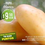 Mega Soriana: Frutas y Verduras 27 y 28 de noviembre 2018