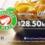 Miércoles de Plaza La Comer Frutas y Verduras 14 de Noviembre 2018