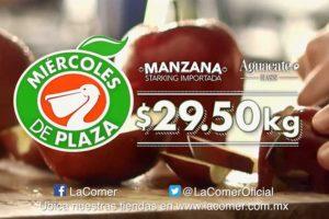 Miércoles de Plaza La Comer Frutas y Verduras 28 de Noviembre 2018