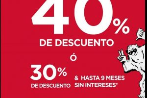 Aéropostale El Buen Fin 2018: 40% de descuento en toda la tienda