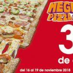 Ofertas Benedettis Pizza El Buen Fin 2018: 2×1 en pizzas medianas