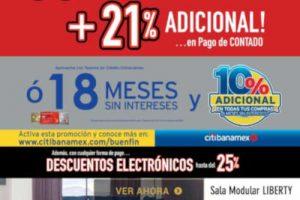 Ofertas Muebles Dico El Buen Fin 2018: 35% de descuento y 18 MSI