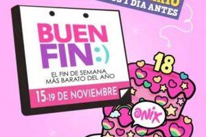 El Buen Fin 2018 en Onix