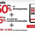 Ópticas Lux El Buen Fin 2018 Hasta 50% de descuento en armazones
