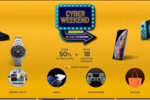 Palacio de Hierro - Cyber Weekend 2018 / Hasta 50% de descuento