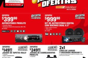 Ofertas AutoZone El Buen Fin 2018
