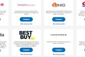 Promociones PayPal El Buen Fin 2018