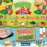 Frutas y Verduras S-Mart del 27 al 29 de noviembre 2018