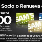 Sam's CLub: Hazte socio o renueva y ahorra $200 en tu membresía Sams