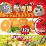 Soriana Mercado - Frutas y Verduras del 23 al 26 de Noviembre 2018