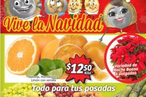 Soriana Mercado Frutas y Verduras del 23 al 26 de Noviembre 2018