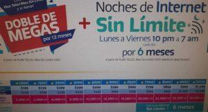 Promociones Telcel Buen Fin 2018 Noches de Internet Sin Limite