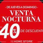 Venta Nocturna The Home Store 29 de Noviembre al 2 de Diciembre 2018