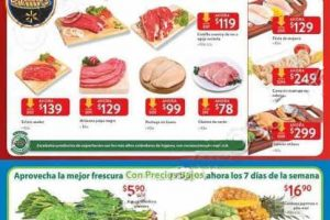 Walmart: Ofertas de carnes, frutas y verduras 23 al 25 de Noviembre 2018