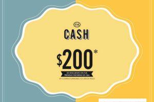 C&A: Cupón de $200 de descuento al 9 de diciembre de 2018
